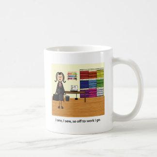 I sew, I sew... Coffee Mug