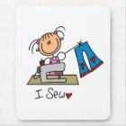I Sew Mouse Pad