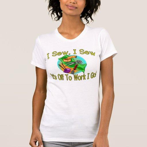 I Sew Tee Shirt T-shirts