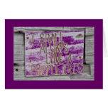 I Shall Always Love A Purple Iris.. Greeting Cards