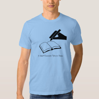 I Shall Eviscerate You in Fiction Tshirts