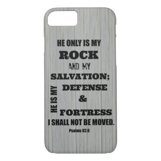 I shall not be Moved Bible Verse iPhone 8/7 Case