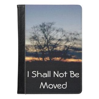 I Shall Not Be Moved Folio iPad Air Case