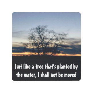 I Shall Not Be Moved Metal Print