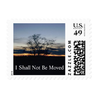 I Shall Not Be Moved Postage