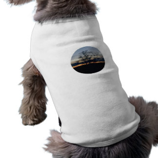 I Shall Not Be Moved Tree Photograph Pet Shirt