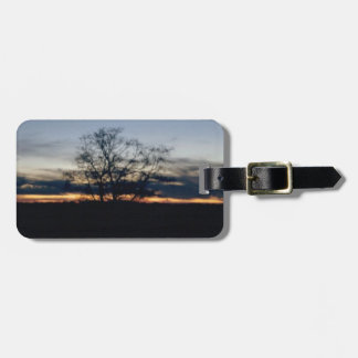 I Shall Not Be Moved Tree Photograph Luggage Tag