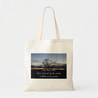 I Shall Not Be Moved Tree Photograph Tote Bag