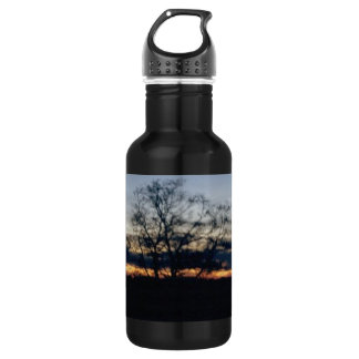 I Shall Not Be Moved Tree Photograph Water Bottle