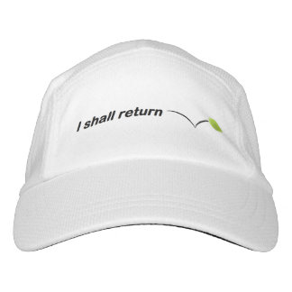 I Shall Return Tennis Hat