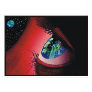 I Shall Visit This Earth Postcard