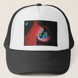 I Shall Visit This Earth Trucker Hat