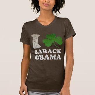 I Shamrock Barack Obama t shirt
