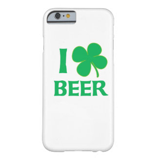 I Shamrock Beer Barely There iPhone 6 Case