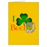 I shamrock beer - I love Beer Gift Card
