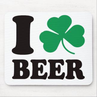 I Shamrock Beer Mouse Pad