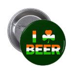 I Shamrock Beer! Pin
