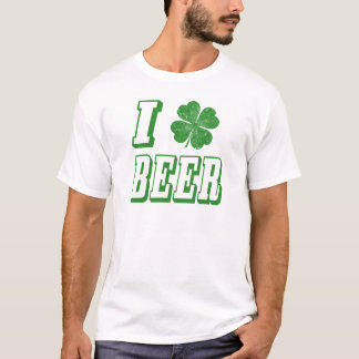 I Shamrock Beer T-Shirt