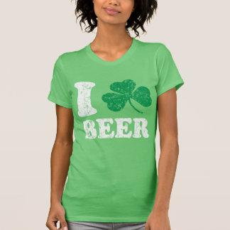 I Shamrock Beer T Shirt