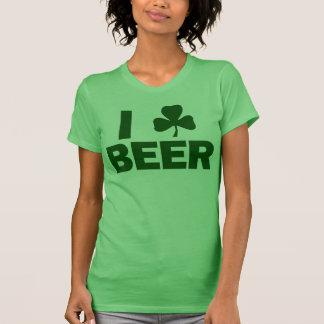 I Shamrock Beer Tshirts