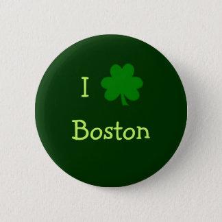 I Shamrock Boston Button