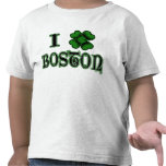 I Shamrock Boston Kids T Shirts