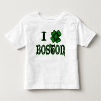 I Shamrock Boston Kids Shirt
