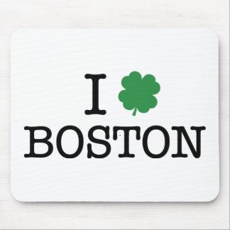 I Shamrock Boston Mouse Pad