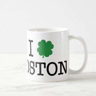 I Shamrock Boston Classic White Coffee Mug