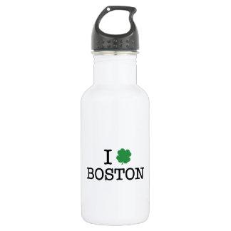 I Shamrock Boston 18oz Water Bottle