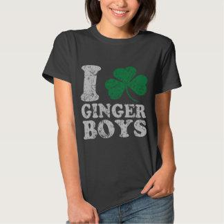I Shamrock Ginger Boys Tee Shirt