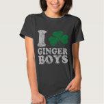 I Shamrock Ginger Boys Tee Shirts