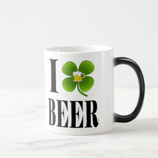 I Shamrock, Heart Beer, St-Patrick's Day Party Cup Coffee Mugs