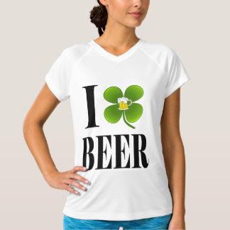 I Shamrock, Heart Beer, St-Patrick's Day Party Tee