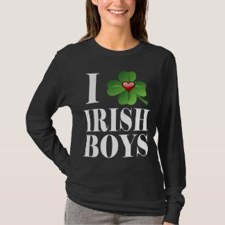 I Shamrock, Heart Irish Boys, St-Patrick's Day Tee