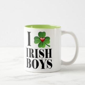 I Shamrock, Heart Irish Boys, St-Patty's Day Cup