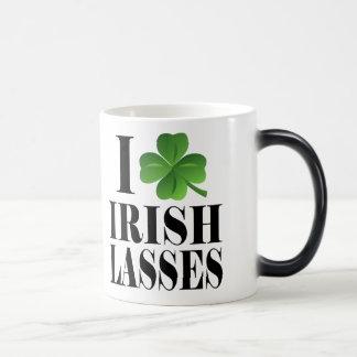 I Shamrock, Heart Irish Lasses, St-Patrick's Day Magic Mug