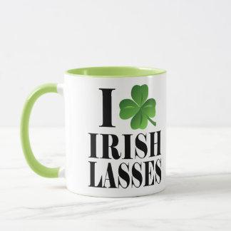 I Shamrock, Heart Irish Lasses, St-Patrick's Day Mug