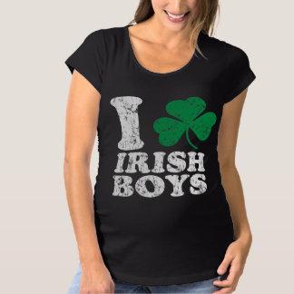 I Shamrock Irish Boys Maternity T-Shirt