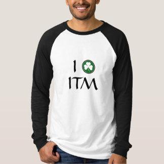 I Shamrock (Love) ITM (Irish Traditional Music) T-Shirt