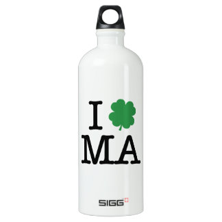 I Shamrock MA SIGG Traveler 1.0L Water Bottle
