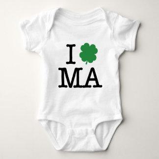 I Shamrock MA Tshirt