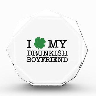 I Shamrock My Drunkish Boyfriend Acrylic Award