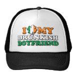 I Shamrock My Drunkish Boyfriend Trucker Hat