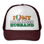 I Shamrock My Drunkish Husband Trucker Hat