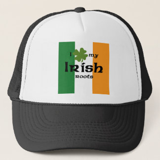 "I ""shamrock"" my Irish roots Trucker Hat"