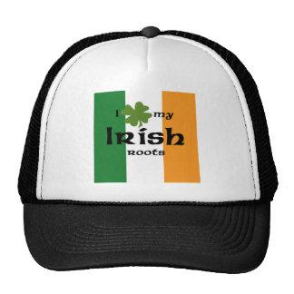 "I ""shamrock"" my Irish roots Trucker Hat"