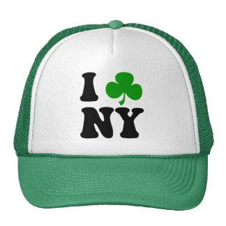 I shamrock NY Mesh Hats