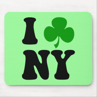 I shamrock NY Mouse Pad