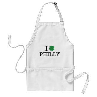 I Shamrock Philly Adult Apron